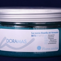 "Body Scrub ""Cornflowers"""